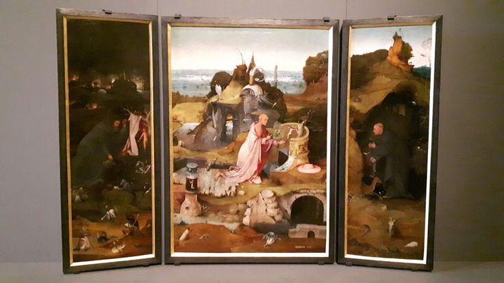Trittico  degli eremiti. 1476. Gallerie dell'Accademia Venezia