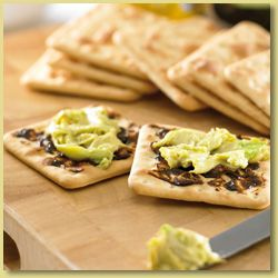 Avocado on Crackers with Vegemite* Recipe - Avocados Australia