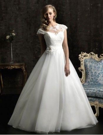 Beautiful Feminine Ball Gown Vintage Wedding Dress WD Wedding Dresses OnlyBrides