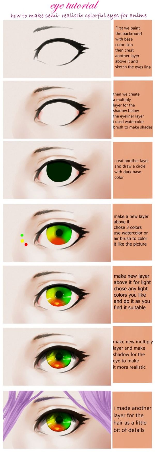 PAINTING ONE EYE: 25 great tutorials