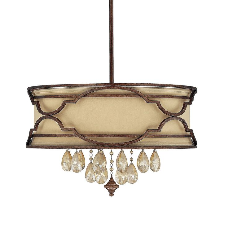 Capital lighting 4056bd 529 cr 6 light luciana large pendant lighting universe