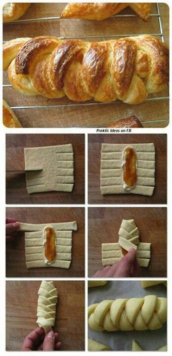 So simple but looks really professional! #yum #food #foodie #baking #recipe #recipes #dough