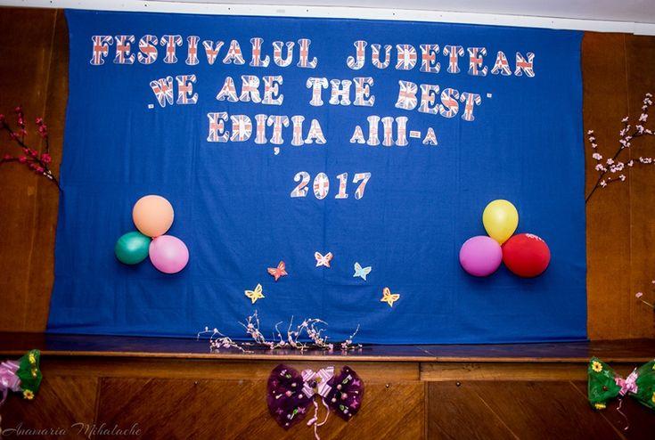"""Castigatorii Festivalului de Limba Engleza """"WE ARE THE BEST"""" Constanta 2017"""