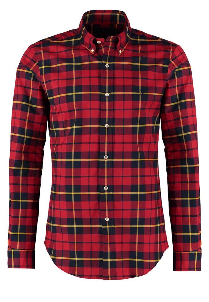 Polo Ralph Lauren SLIM FIT Hemd red/black Premium bei Zalando.de   Material Oberstoff: 98% Baumwolle, 2% Elasthan   Premium jetzt versandkostenfrei bei Zalando.de bestellen!