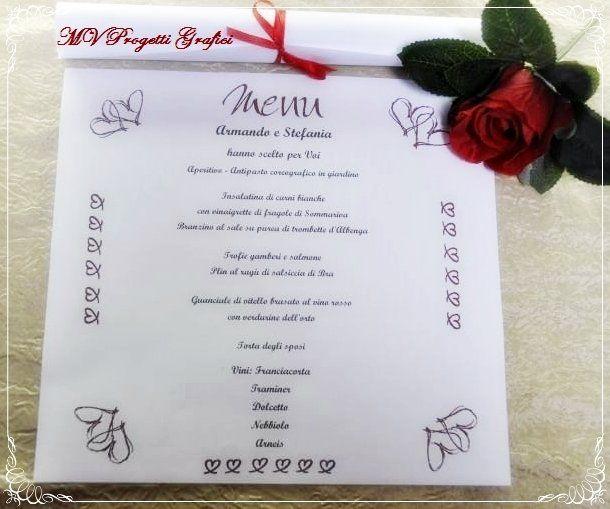 Oltre 25 fantastiche idee su menu di nozze su pinterest for Luogo di nozze con cabine
