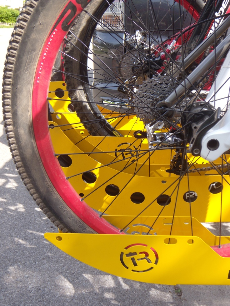 Tuf Rack Mountain Bike Transportation System That Is Easy To