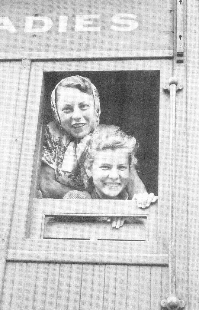 Bonegilla Train 1947 - Bonegilla was a migrant reception centre near Albury, NSW