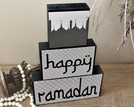 Happy Ramadan Home Decoration, Islamic Festival, Iftar Party Hostess Gift, Eid Home Decor, Ramadan Gift for Kids, Muslim Celebration