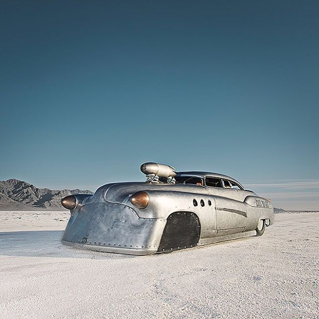 "1952 Buick Super Riviera.   Hamburg-based photographer Alexandra Lier has launched her book, ""The World's  Fastest Place"""