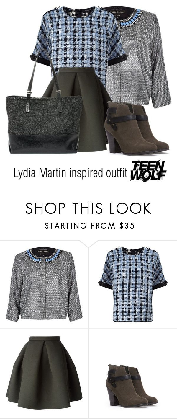 Lydia Martin inspired outfit/Teen Wolf by tvdsarahmichele on Polyvore featuring Derek Lam, River Island, Kenzo, Forever 21 and Carla Mancini
