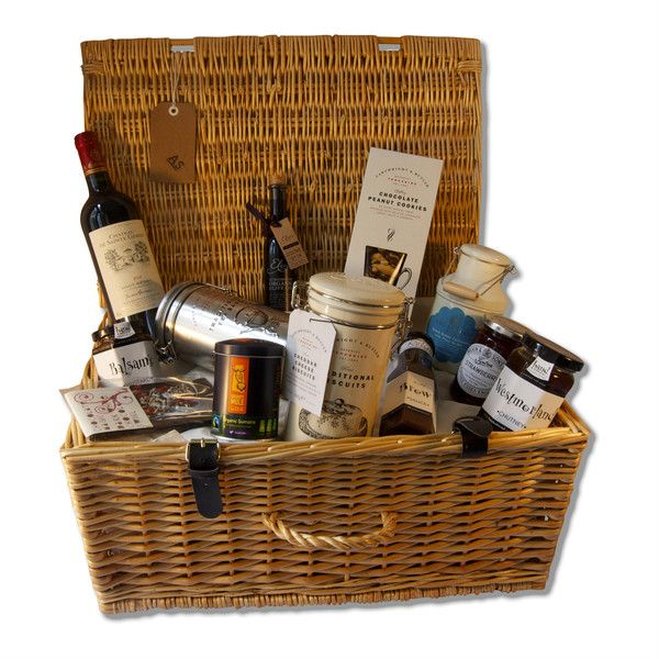 Grosvenor Hamper - Alexander and Shaw new exclusive hamper range is now available and full of delicious handpicked products, including Eliris extraordinary organic olive oil.