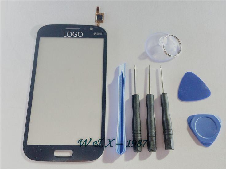 Màu xanh đậm cho Samsung Galaxy Đại Duos i9082 màn hình cảm ứng Digitizer Front Glass Lens Replacement + Công cụ miễn phí vận chuyển
