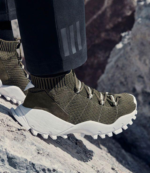 У кроссовок adidas для White Mountaineering самая суровая подошва