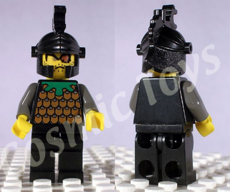 Gilbert the Bad minifigure, from LEGO Knights' Kingdom I.