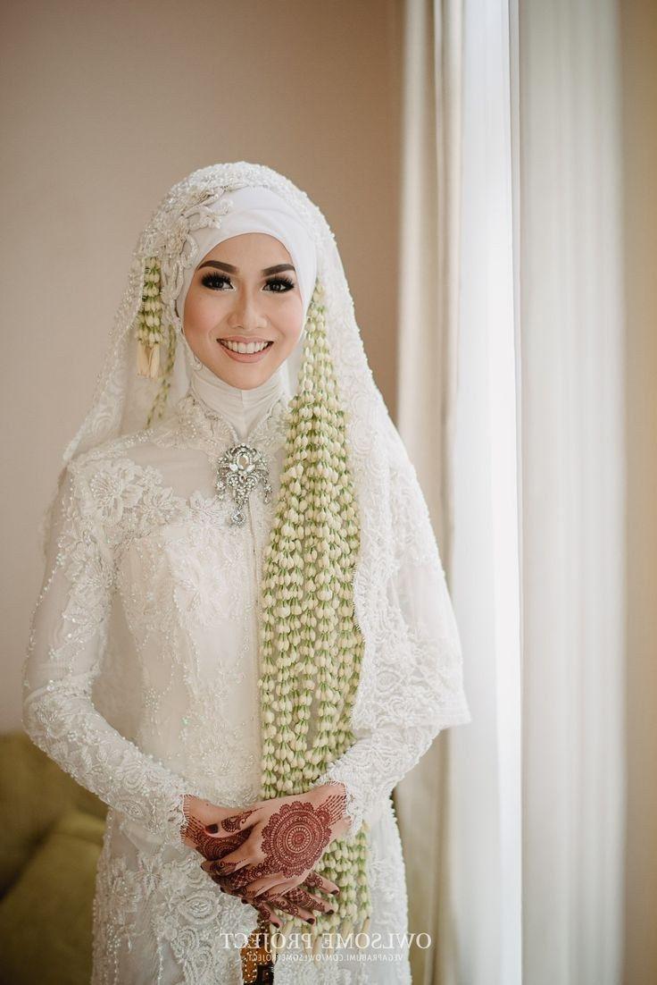 10 Model Harga Gaun Pengantin Muslimah Syar i in 10