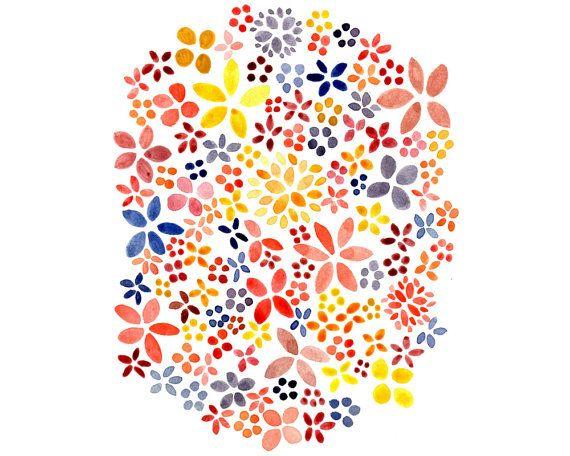 Spring Flowers Printable - Etsy - Little Pond Prints