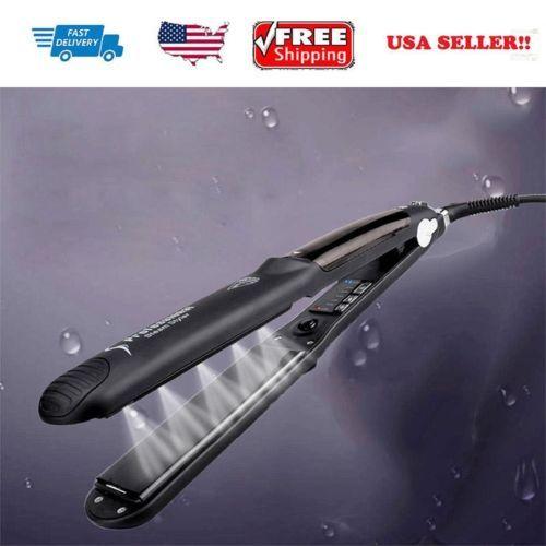 Plancha de Vapor 50 W Plancha de pelo profesional de cerámica para seco y húmedo Enchufe EE. UU. | Belleza y salud, Peinado y cuidado del cabello, Rizadores y planchas alisadoras | eBay!
