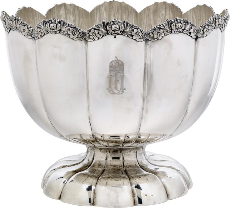 Kaiser Franz Joseph I.; Champagnerkühler aus dem ungarischen Service