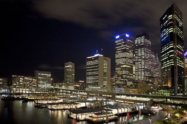 Sydney at Night from Circular Keys Visit us on http://mosmanfamilychiropractic.com.au