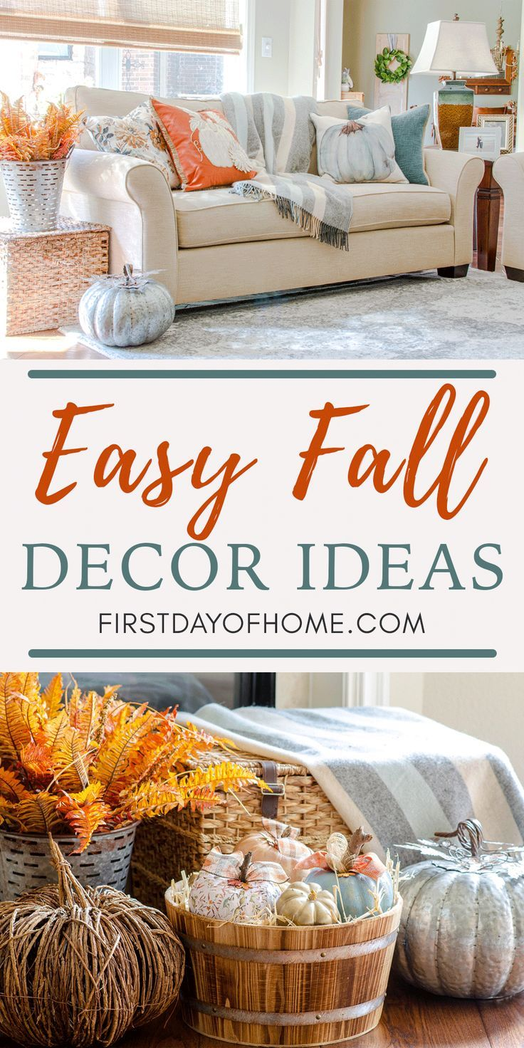 Easy & Inexpensive Fall Decorating Ideas for Your Home