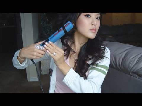 How to curl straight hair with a flat iron- simple!