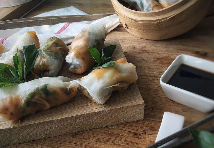 ¿Te atreves a preparar unos rollitos thai?