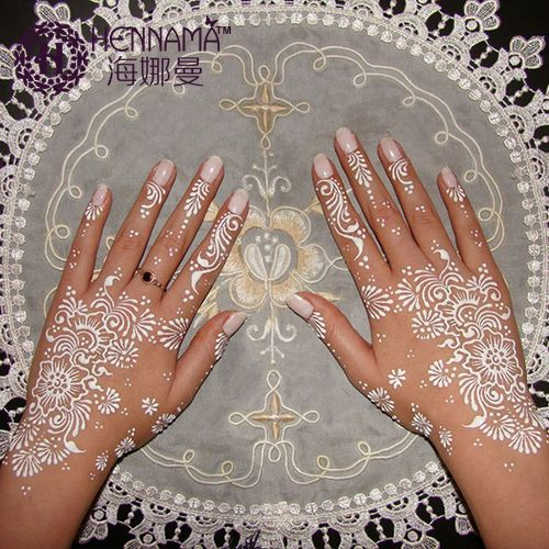 Aliexpress.com: Koop India henna tatoeages pasta voor vrouwen lady bruid party professionele wit mehndi ijs handgeschilderde pen voor body nail van betrouwbare tattoo machine frame ontwerp leveranciers op products updated every day