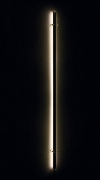 Bacchetta magica LED by Mario Nanni for Viabizzuno. In the RGB LED version, light can be modulated to various colour gradients. Fron viabizzuno.com