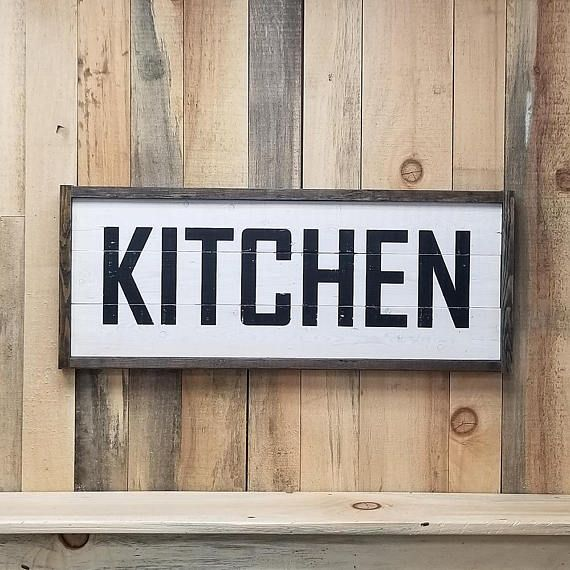 Rustic Kitchen Signs: 129 Best Wood Signs & Wall Plaques Images On Pinterest
