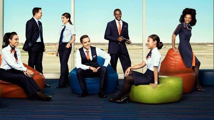 jetblue u0026 39 s new crew uniforms  jetblue