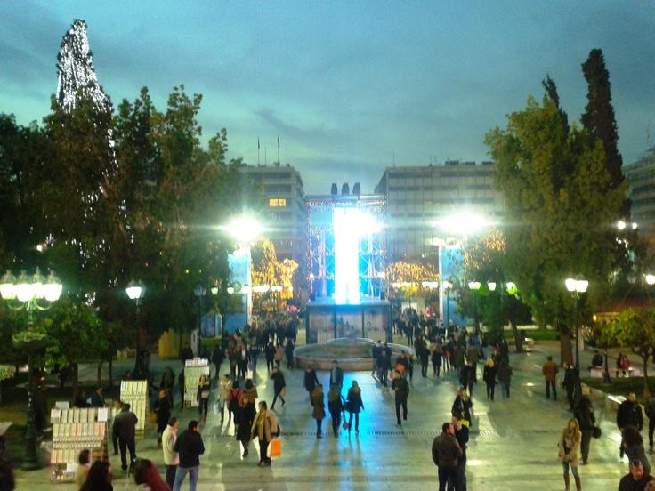 Sintagma, Athens, #Hellas, 15.12.2012