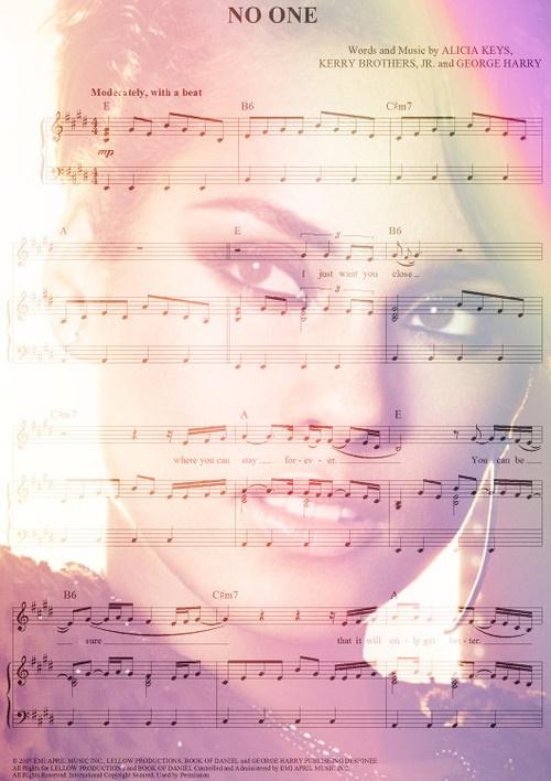 Alicia Keys No One