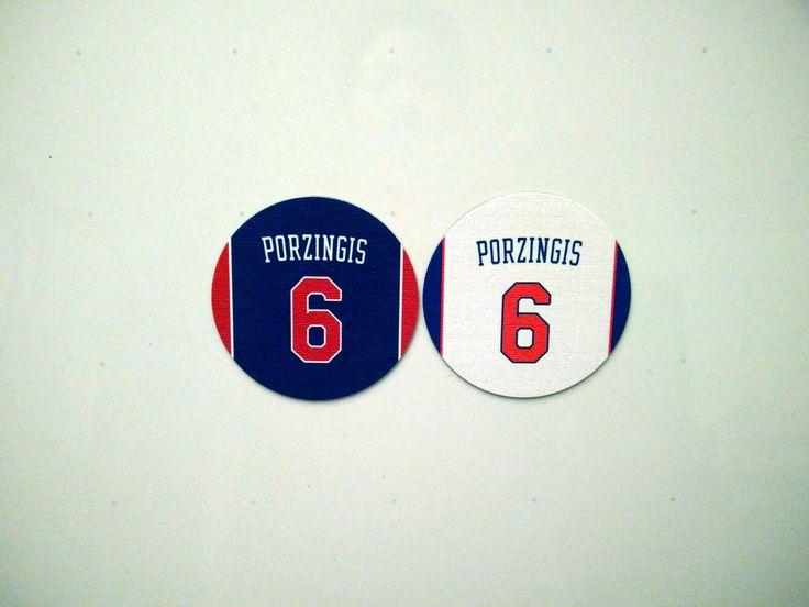 Kristaps Porzingis Magnets - Set of 2 Magnets - Knicks Home and Away #6 Knicks #NewYorkKnicks #knicks #porzingis