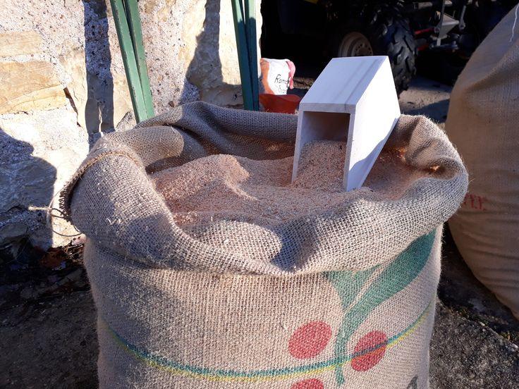 sciure pour toilette sèche à compost