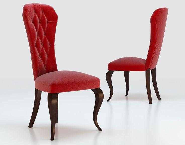 Silla de estilo clásico que hará de tu salón un ambiente cálido y acogedor.
