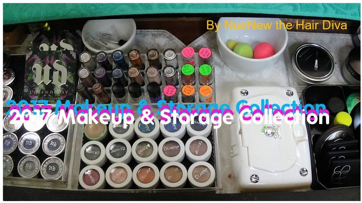 Makeup💄 Collection & Storage for 2017 by NueNew (new usable size)