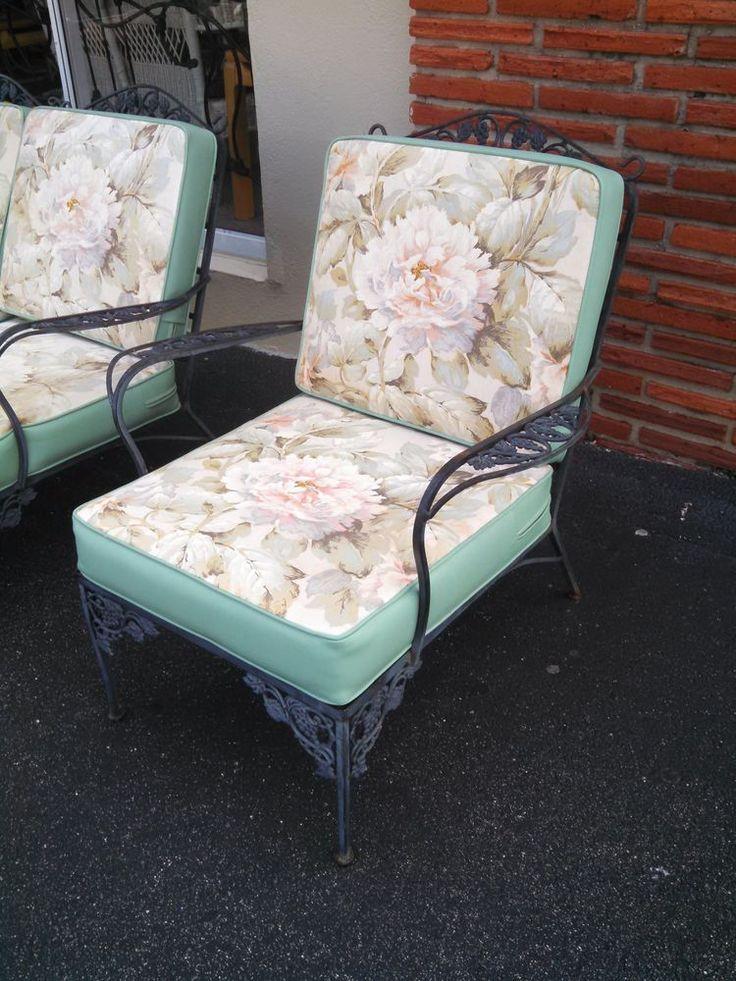 25+ Best Ideas About Iron Patio Furniture On Pinterest