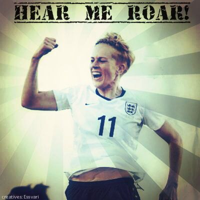 lol... you guessed it right... its Dowie again... (I mean she's a hattrick lass right?!) LFC Ladies striker in her England kit :p