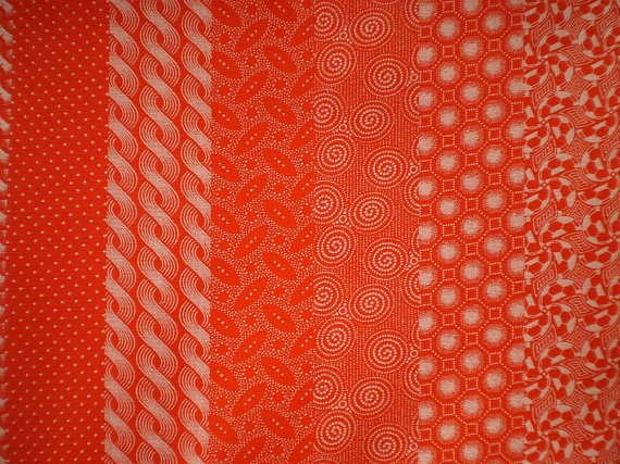 Orange Geometry  Original South African by chocolatnegrodesign, $16.00