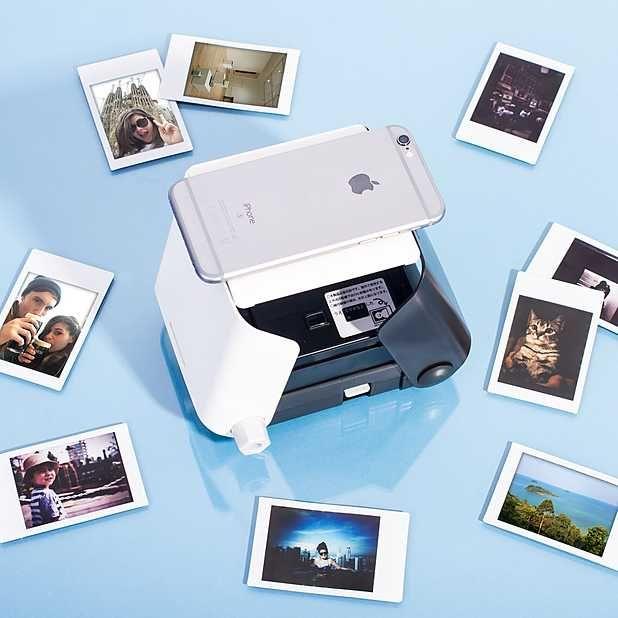 Kiipix La Impresora De Fotos Instantáneas Para El Smartphone Impresora Foto Instantanea Impresora Fotografica