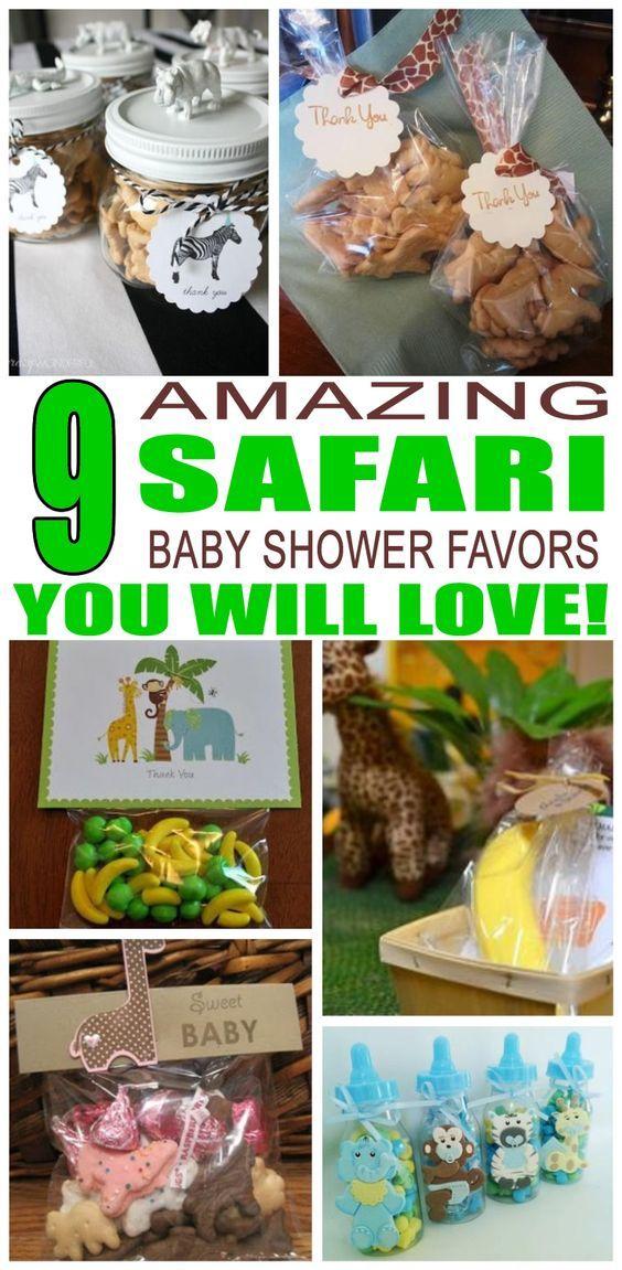 Safari Baby Shower Favors
