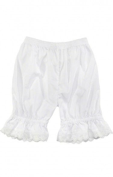 Traditional german dirndl underwear U35 white