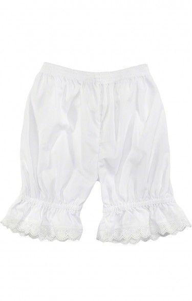 Traditional german dirndl underwear U35 white