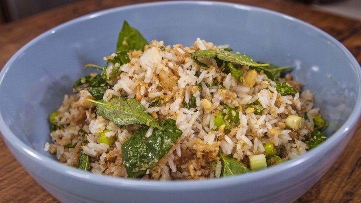 Nasi Ulam (Malaysian Rice Salad)