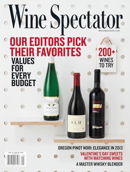29, 2016: A new year of wine discovery awaits. Wine Spectator's