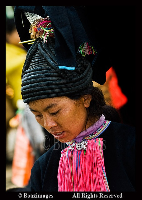 Woman from one of the minority tribes, China