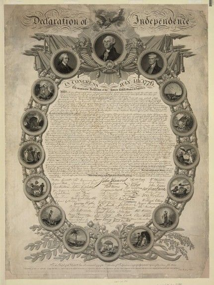 the history of the declaration of independence in usa Declaration of the independence of the  of the july fourth 1776 signature of the united states declaration of independence by the  usa history infographics.