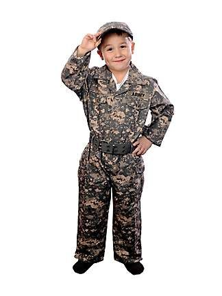 Childs Jr. Camouflage Costume
