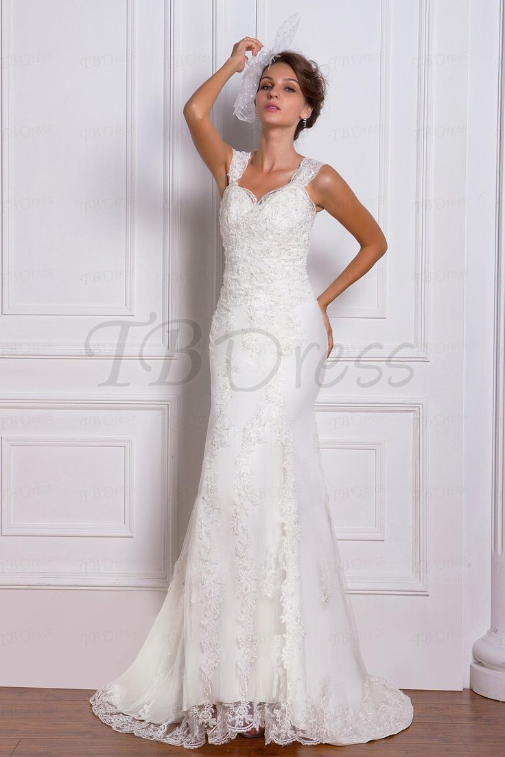 Brilliant Sweetheart Sleeveless Trumpet Mermaid Chapel Train Miriamas Wedding Dress