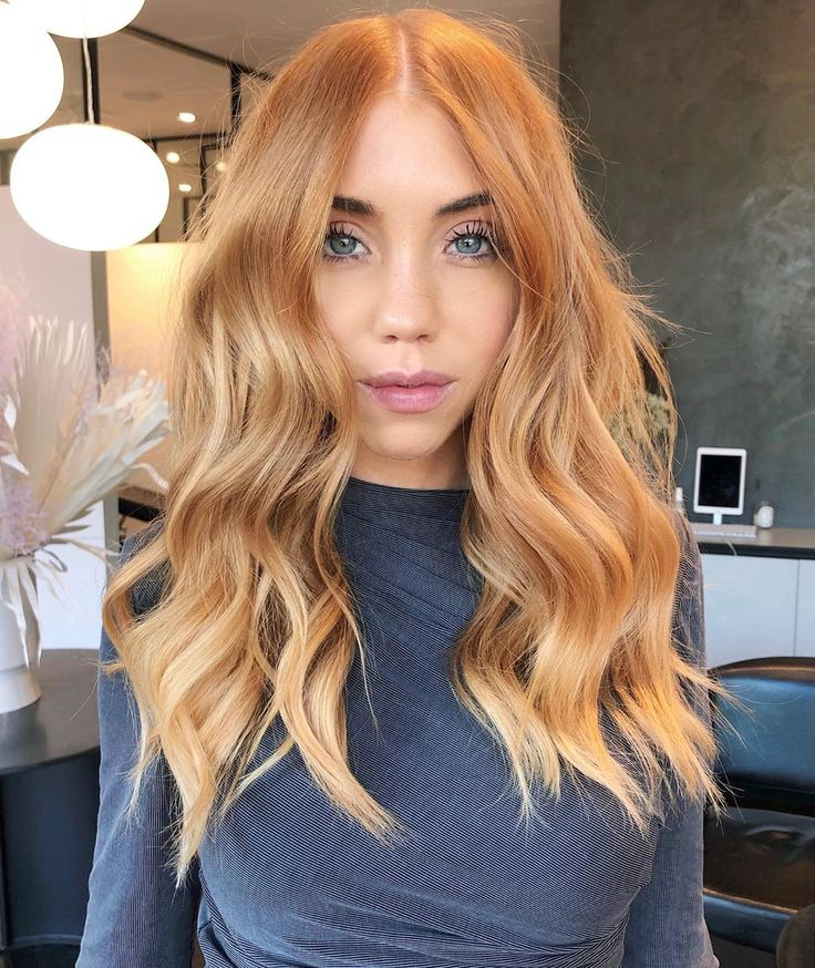The Haircut, Color, and Style Worth Trying This Winter in 2020 | Ginger hair color, Copper blonde hair, Strawberry blonde hair color